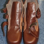 Solche Schuhe werden von Diabetikern nicht gerne getragen, da schwer, klobig. Sie sind aber unerläßlich!